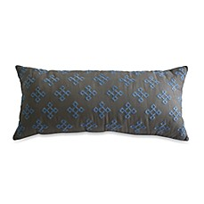 Nostalgia Home™ Satin Stich Embroidered Oblong Toss Pillow