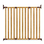 KidCo® Angle Mount Wood Safeway® Gate in Oak