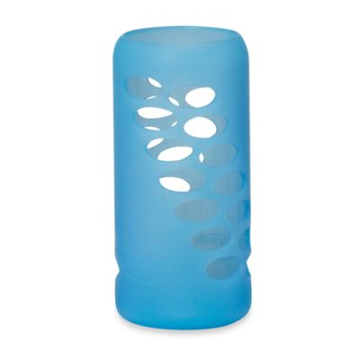 Dr. Brown's® 8-Ounce Glass Bottle Silicone Sleeve in Blue