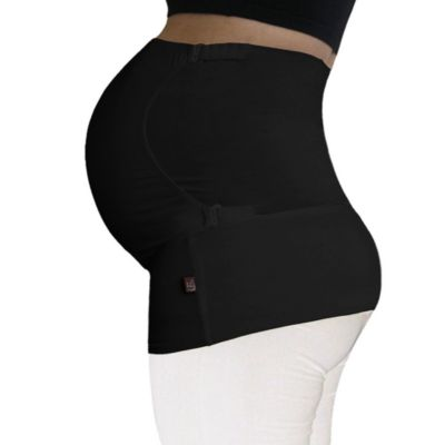 Pure Belly 3-in-1 Pregnancy & Postpartum Black Belly Support Wrap