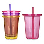 The First Years™ Take & Toss 4-Pack 1-Once Spill-proof Straw Cups