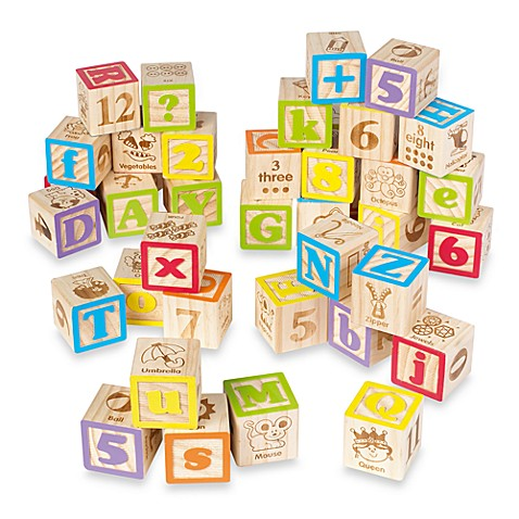 Maxim® 50-Piece ABC Blocks Set