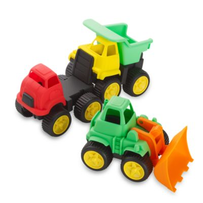 Kidoozie Little Tuffies Trucks (Set of 3)