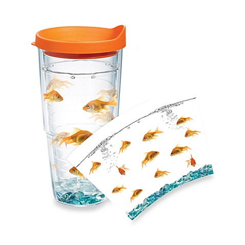 Tervis® Goldfish Wrap 24-Ounce Tumbler with Orange Lid