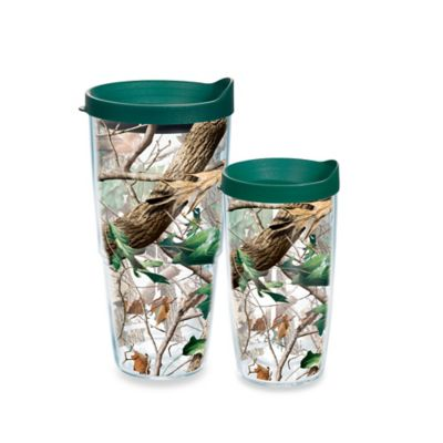 Tervis® Realtree AP Camo 24-ounce Wrap Tumblers with Brown Lid