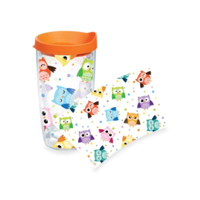 Tervis® Whimsical Owls Wrap 16-Ounce Tumbler with Orange Lid