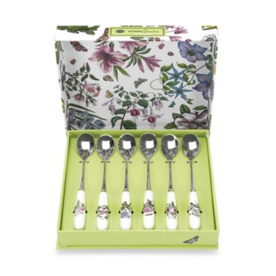Portmeirion Botanic Garden 6-Piece Teaspoon Set