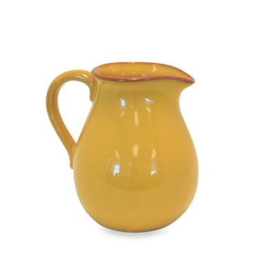 Baum Costa Del Sol 74-Ounce Pitcher in Yellow