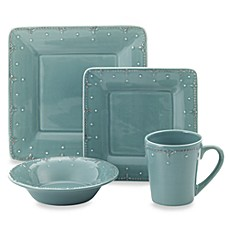 Genevieve Slate Square Dinnerware Collection