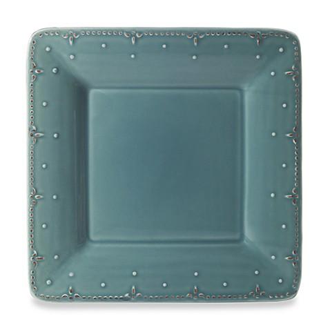 sc 1 st  Bed Bath u0026 Beyond & Genevieve 10 3/4-Inch Square Dinner Plate in Slate - Bed Bath u0026 Beyond