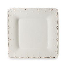 Genevieve 8-Inch Square Salad Plate in Ivory
