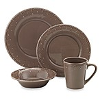 Genevieve Chocolate Dinnerware