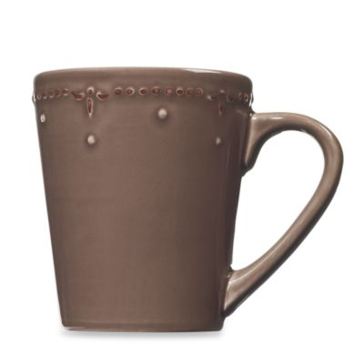 Genevieve 16-Ounce Mug in Chocolate