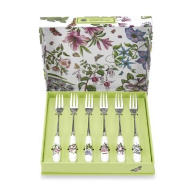 Portmeirion® Botanic Garden 6-Piece Pastry Fork Set