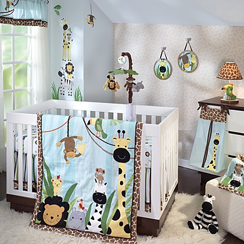 Buy Kidsline Carter S Jungle Play 4 Piece Crib Bedding