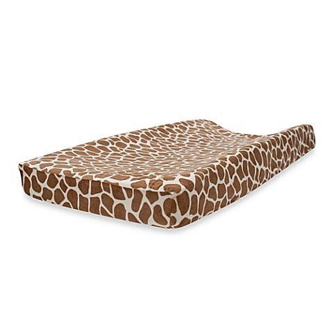 Lambs & Ivy® Peek-a-Boo Jungle Changing Pad Cover