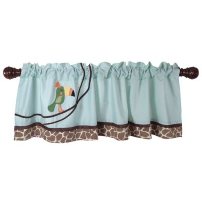 Lambs & Ivy® Peek-a-Boo Jungle Window Valance