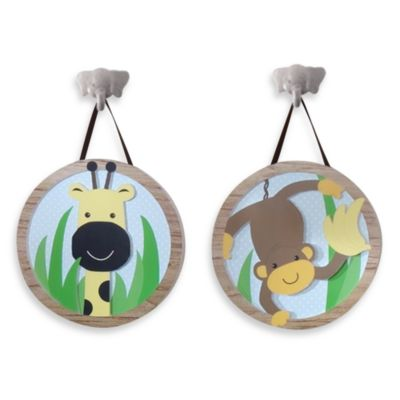 Lambs & Ivy® Peek-a-Boo Jungle Wall Decor