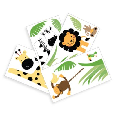 Lambs & Ivy® Peek-a-Boo Jungle Wall Appliqués