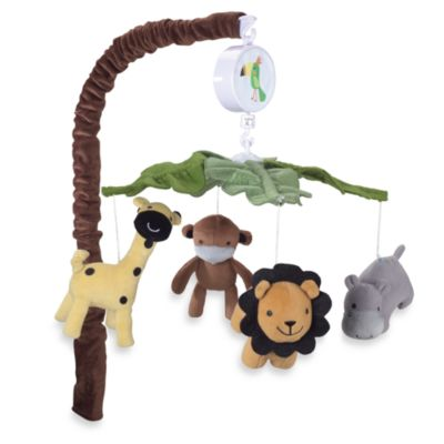 Crib Bedding Sets > Lambs & Ivy® Peek-a-Boo Jungle Mobile