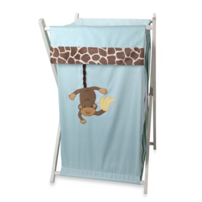 Lambs & Ivy® Peek-a-Boo Jungle Hamper