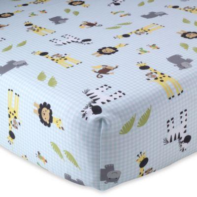 Jungle Crib Sheets