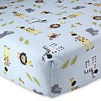 Lambs & Ivy® Peek-a-Boo Jungle Crib Sheet