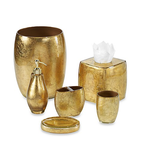 Nicole Miller® Golden Rule Waste Basket