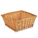 Redmon Collection Large Willow Basket in Honey