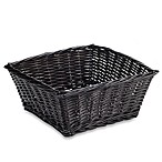 Redmon Collection Large Willow Basket in Espresso
