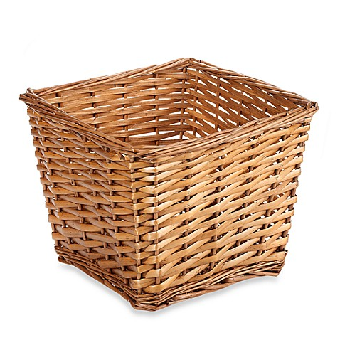 Redmon Collection Small Willow Basket in Honey