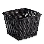 Redmon Collection Small Willow Basket in Espresso