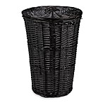 Redmon Collection Round Willow Hamper in Espresso