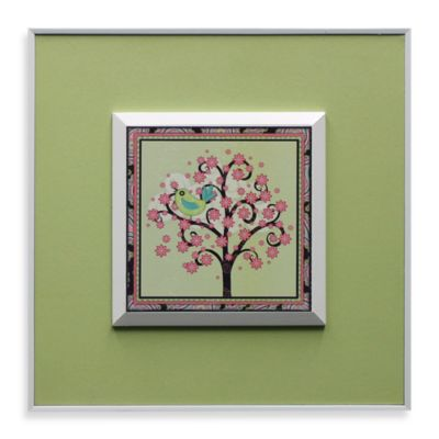 Tree with Yellow Bird Wall Art