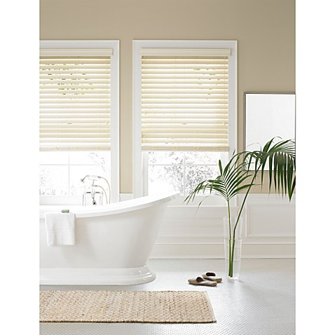 Buy Real Simple 174 Faux Wood Window Blind From Bed Bath Amp Beyond
