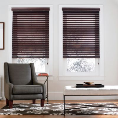 Real Simple® Real Wood Window Blinds