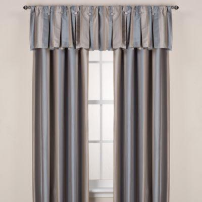 Otello Stripe 108-Inch Window Curtain Panel in Chocolate