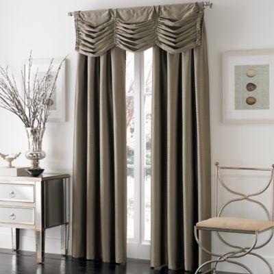 Otello Honeycomb Pinch Pleat Window Curtain Panels