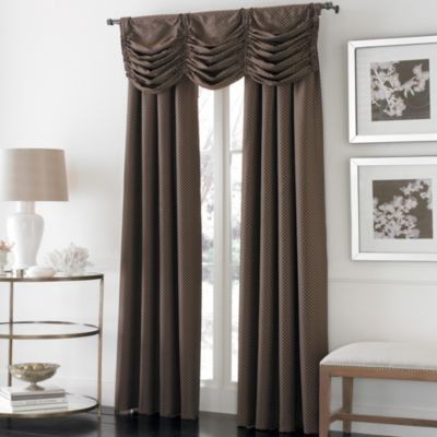 Otello Honeycomb Pinch Pleat Window Curtain Panels