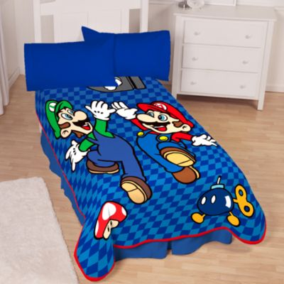 Mario Bed Sheets King Size