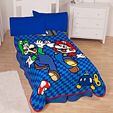 Super Mario Bros.® Twin Blanket