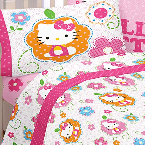 Buy Hello Kitty Twin Sheet Set from Bed Bath & Beyond
