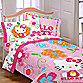 Hello Kitty Twin Comforter Set