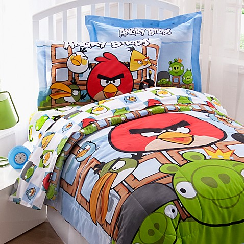 Angry Birds™ Twin Sheet Set