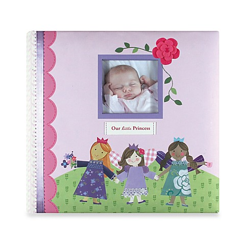 C.R. Gibson® Enchanted Baby Memory Books in Slip Photo Album