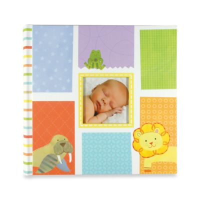 C.R. Gibson® Alphabet Animals Baby Memory Books in Slim Photo Album