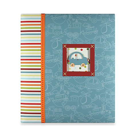 C.R. Gibson® Toot Toot Baby Memory Books in Loose-Leaf Memory Book