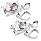 Kate Aspen® Bird Stainless Steel Cookie Cutters