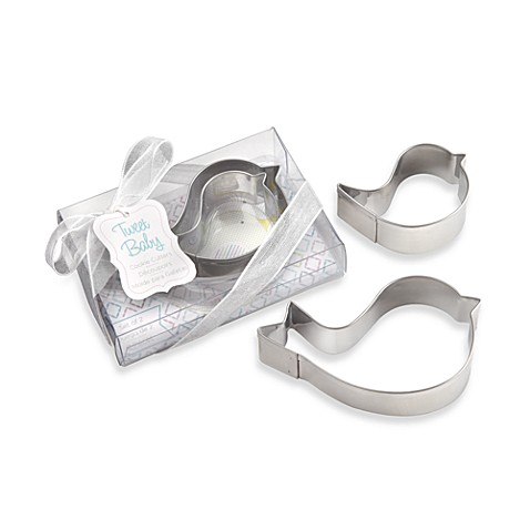 Kate Aspen® Bird Stainless Steel Cookie Cutters in Blue