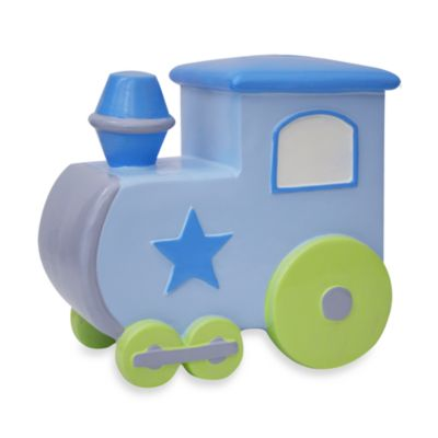 AD Sutton Novelty Resin Train Bank